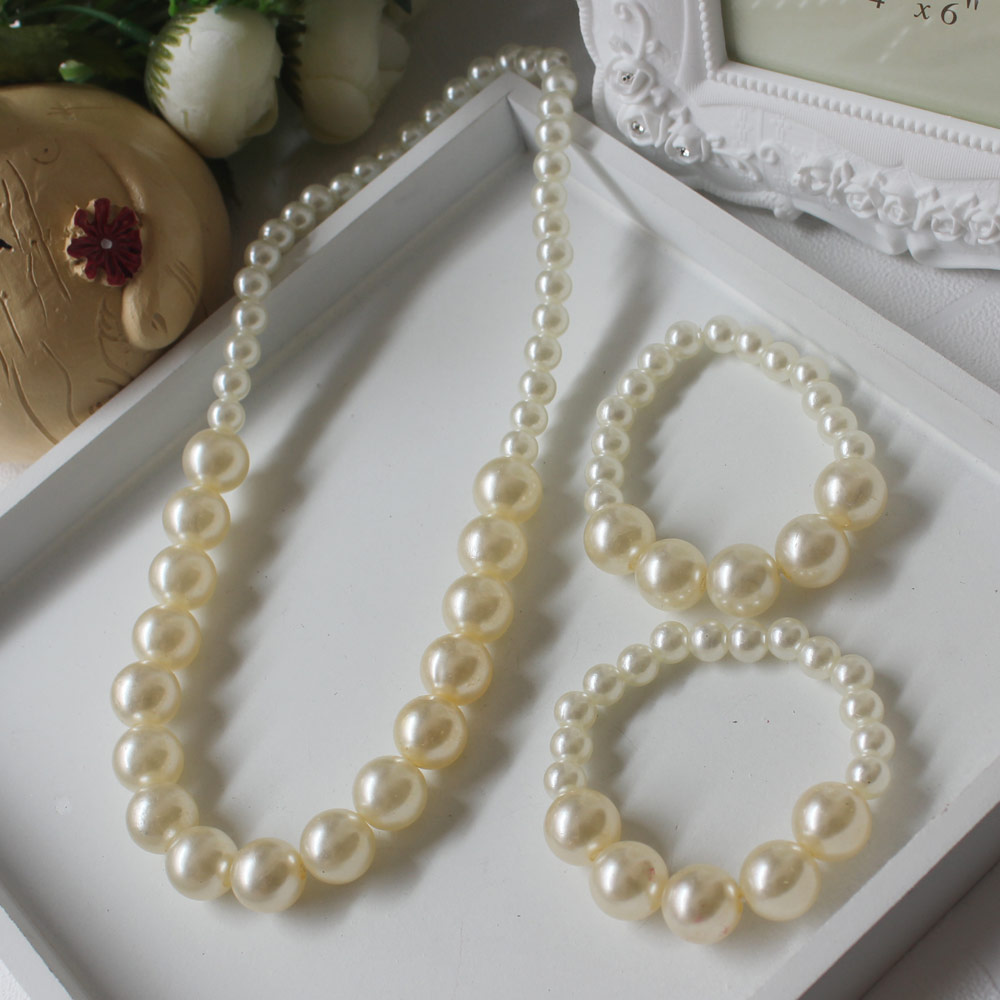 Wholesale Pearl Beaded Necklace Sets