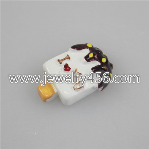 Kawaii 3D Simulation Resin Ice Cream Popsicles Flatback Cabochon Food Art Supply Decoration Charm Craft DIY